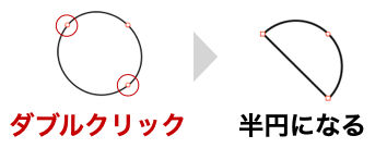 Keynote_扇形の作り方_180度_図8