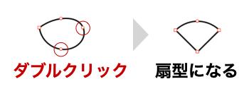 Keynote_扇形の作り方_90度_図12